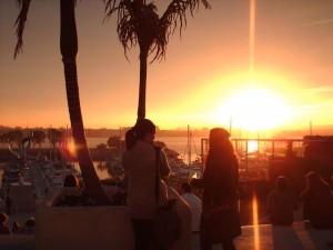 Sunset at SfN