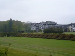 View of Gregynog. Courtesy of Dr. James Redman.