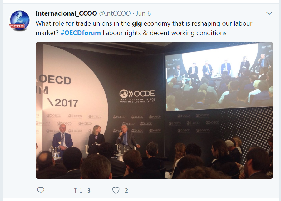 The OECD Forum on Twitter