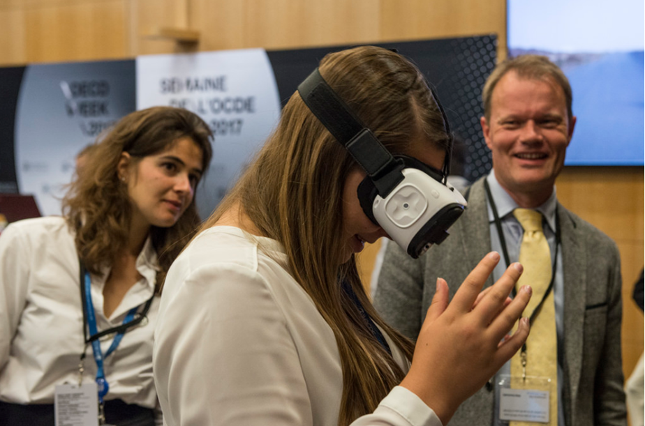 VR at the OECD Forum