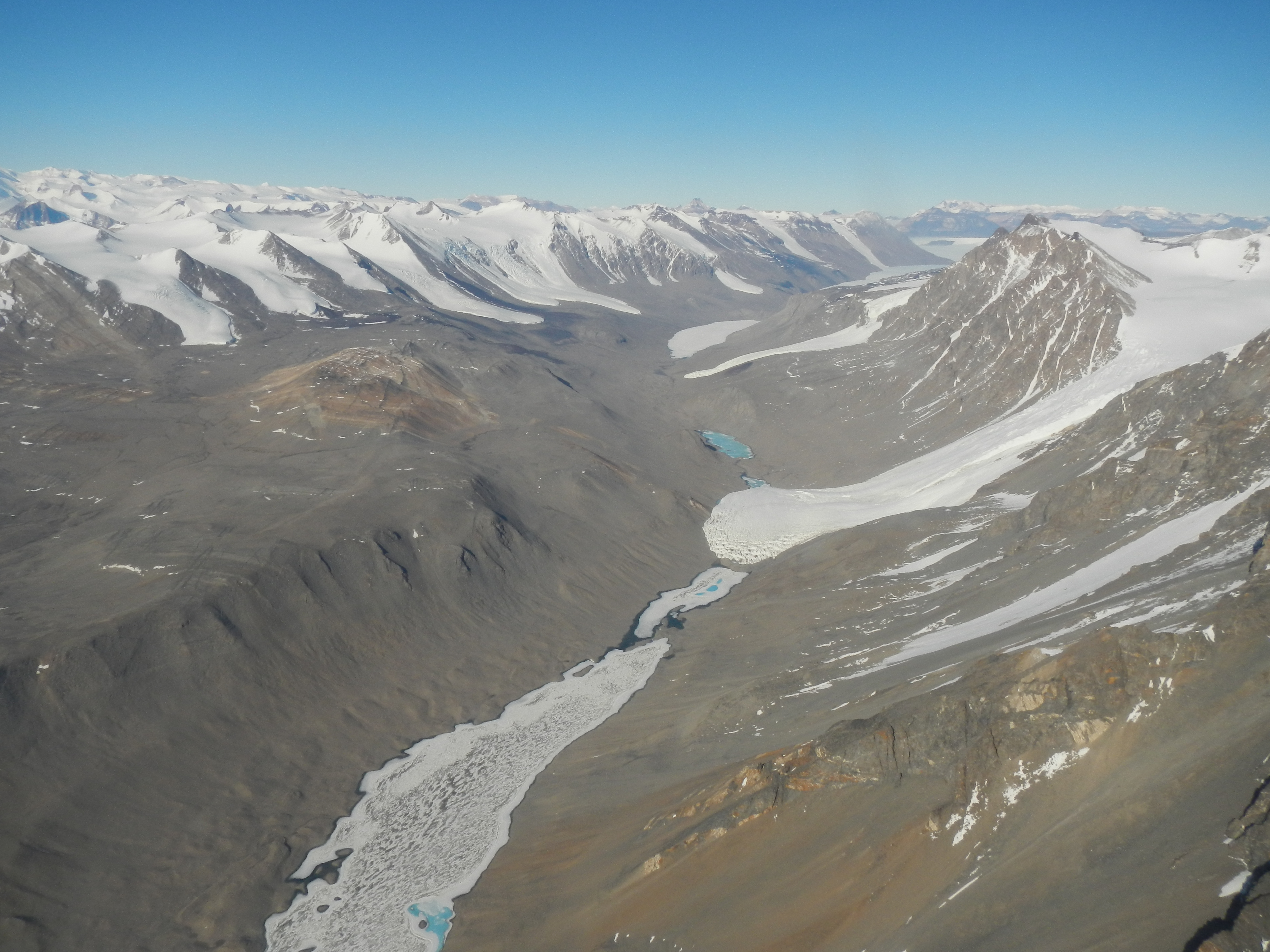 Overview of Taylor Valley, Antarctica