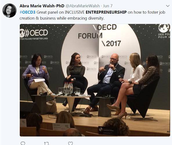 The OECD Forum on Twitter