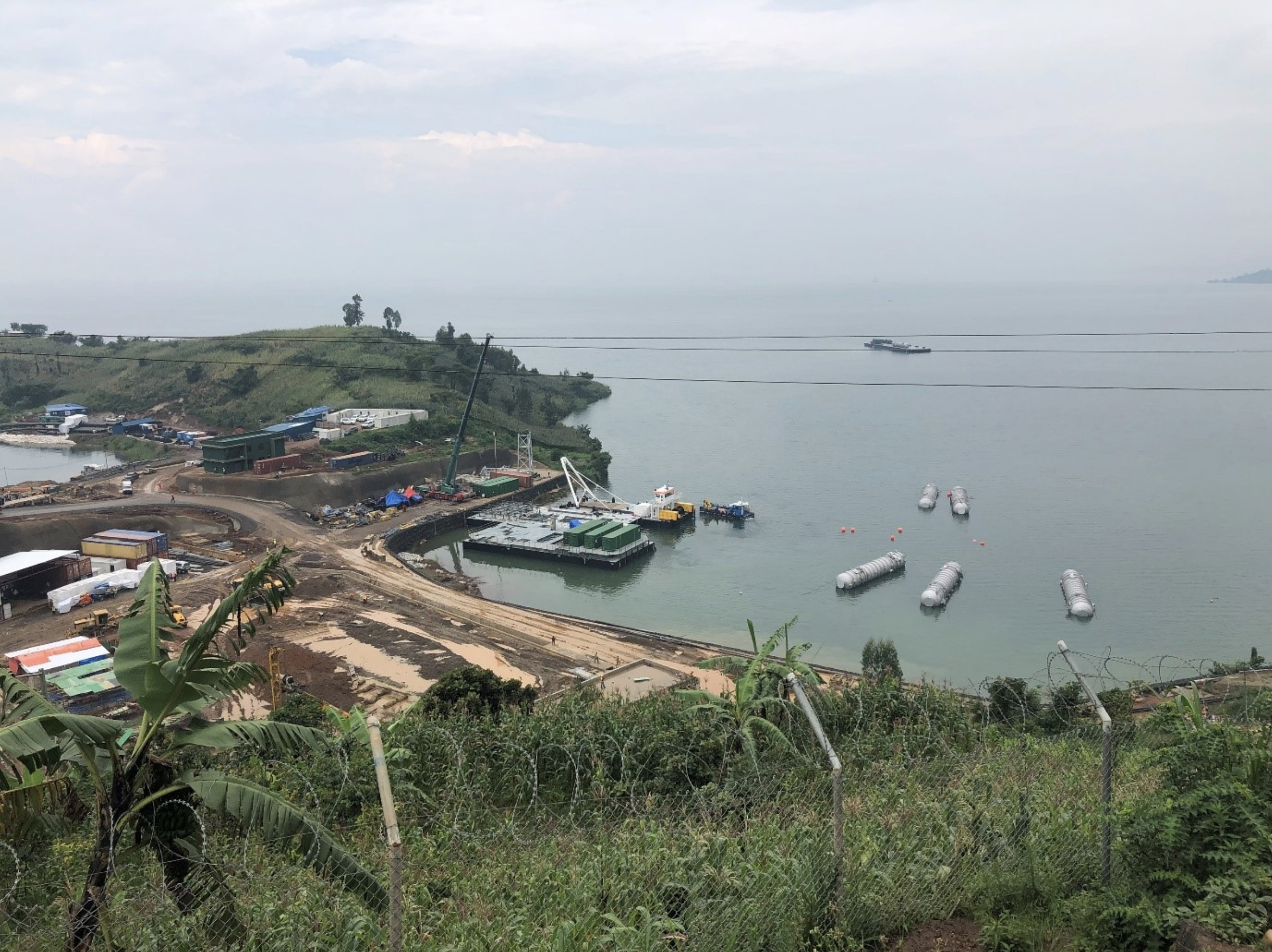 Shema Power Lake Kivu Limited's K56 Construction Update - December 2020