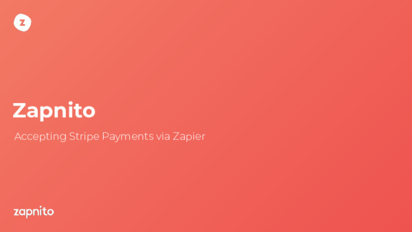 Accepting Stripe Payments via Zapier