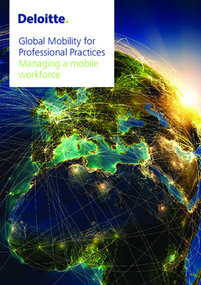 Global Mobility for Professional Practices: Managing a mobile workforce