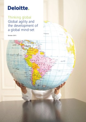 Thinking global: Global agility and the development of a global mind-set