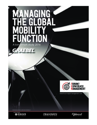 Managing the Global Mobility Function 2016