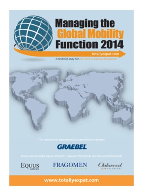 Managing the Global Mobility Function 2014