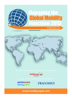 Managing the Global Mobility Function 2013