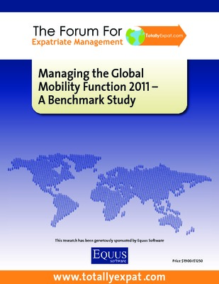 Managing the Global Mobility Function 2011
