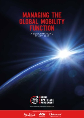 Managing the Global Mobility Function 2018