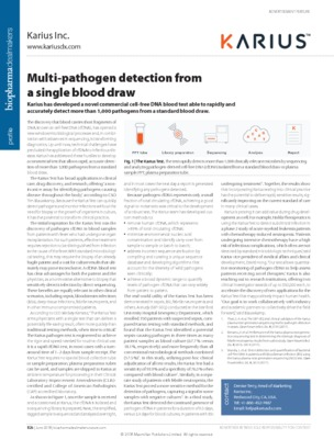Multi-pathogen detection from a single blood draw