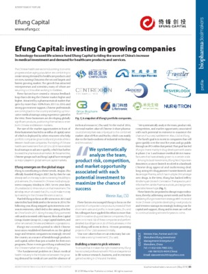 Efung Capital: investing in growing companies