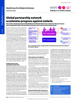 Global partnership network accelerates progress against malaria