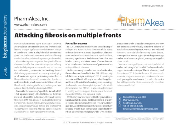 Attacking fibrosis on multiple fronts