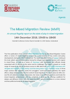 Mixed Migration Review launch