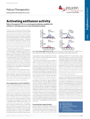 Activating antitumor activity