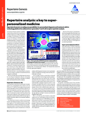 Repertoire analysis: a key to super-personalized medicine