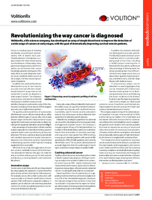 Revolutionizing the way cancer is diagnosed