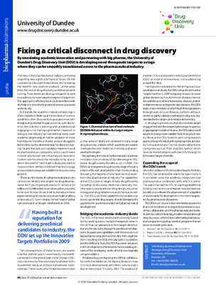 Fixing a critical disconnect in drug discovery