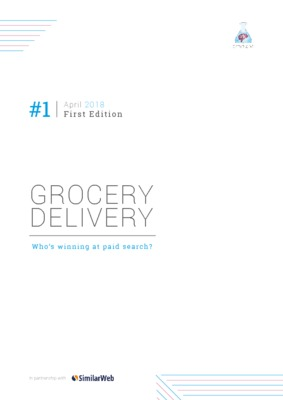 Who's winning at paid search? Grocery Delivery