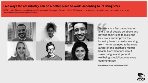 Five ways the ad industry can be a better place to work, according to its rising stars