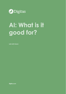 AI - What is it good for?