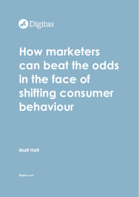 How marketers can beat the odds in the face of shifting consumer behaviour