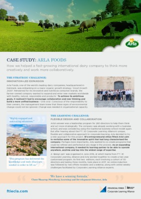 ARLA Case Study