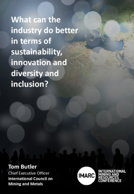 What can the industry do better in terms of sustainability, innovation, diversity and inclusion
