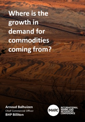 Where is the growth in demand for commodities coming from?