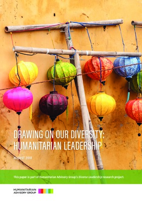 Drawing on our Diversity - Humanitarian Leadership