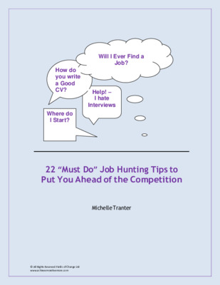 22 Job Hunting Tips:  Stand out from the competition