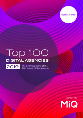 Econsultancy's Top 100 Digital Agencies 2019 Report