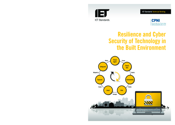Resilience and Cyber Security of Technology in the Built Environment