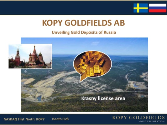 Kopy Goldfields AB - Unveiling Gold Deposits of Russia
