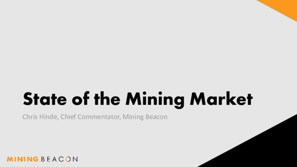Presentation - State of the Market (January 2019)
