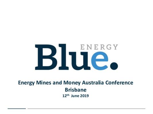 Mining Spotlight: Blue Energy