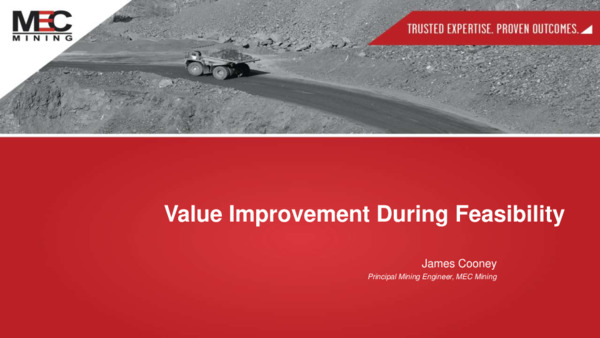 Value Improvement During Feasibility