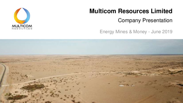 Mining Spotlight: Multicom Resources