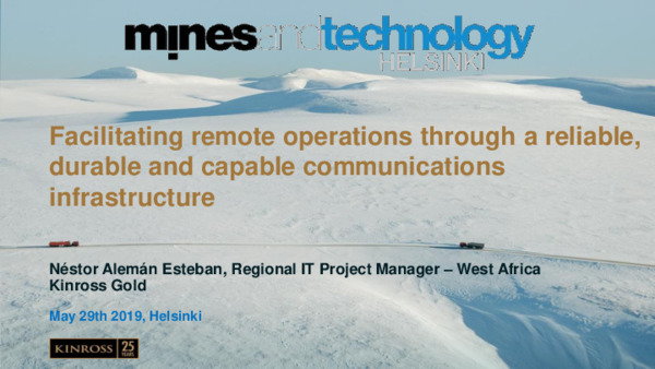Facilitating remote operations through a reliable, durable and capable communications infrastructure