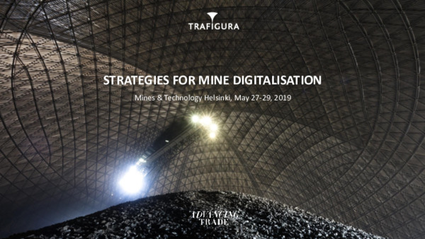 Developing and executing strategies for mine digitalization