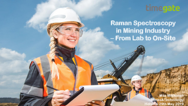 Raman Spectroscopy in Mining Industry – from Lab to On-site