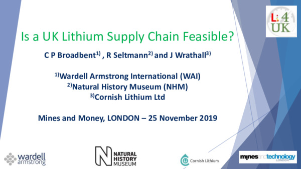 Is a UK Lithium Supply Chain Feasible?