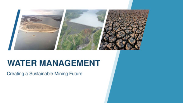 Water Management: Creating a Sustainable Mining Future