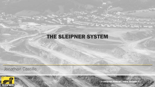 The Sleipner System