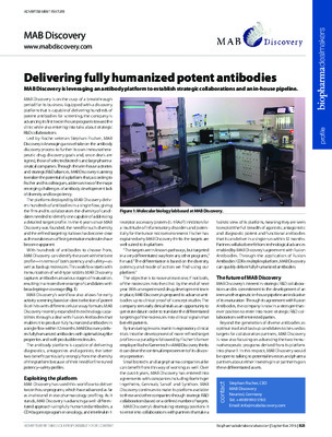 Delivering fully humanized potent antibodies