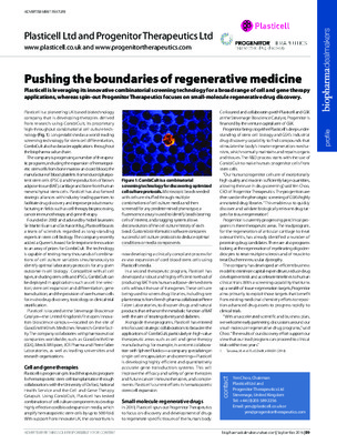 Pushing the boundaries of regenerative medicine