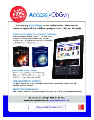 AccessObGyn Brochure