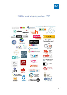 H2H Network - Mapping Analysis report